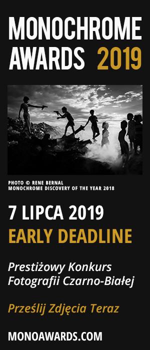 Monochrome Photography Awards 2019 Konkurs Fotografii Czarno - Białej