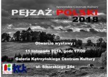 """Konkurs Fotograficzny """"Pejzaż Polski"""" – do 6 listopada 2018"""