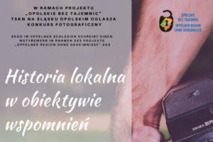 Konkurs fotograficzny Historia lokalna w obiektywie wspomnień