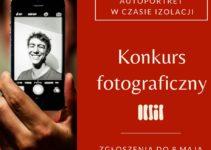 """Konkurs fotograficzny """"Autoportret w czasie izolacji"""