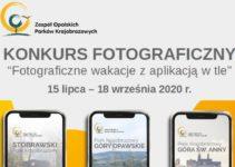 Fotograficzne wakacje z aplikacją w tle